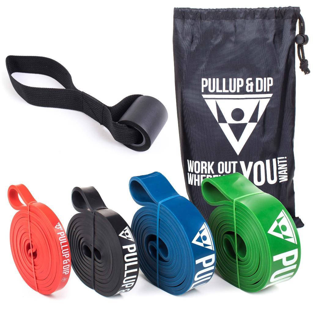 Klimmzug Band / Widerstandsbänder in verschiedenen Stärken bei Pullup & Dip kaufen