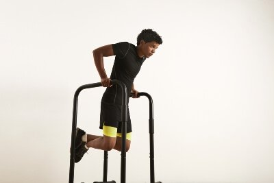dips high parallettes