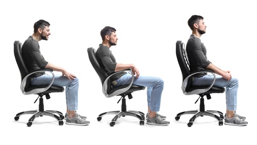 richtig sitzen