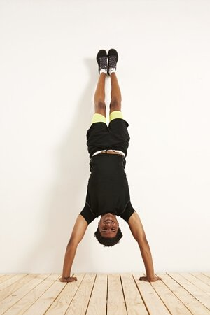 handstand wall
