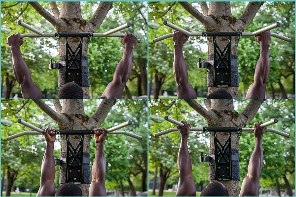 pull-up grip positions